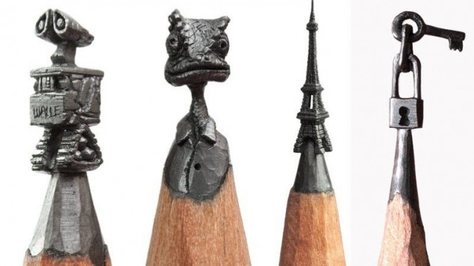 Berbagai Karya Seni Unik Yang Terlahir Dari Hal Tak Terduga